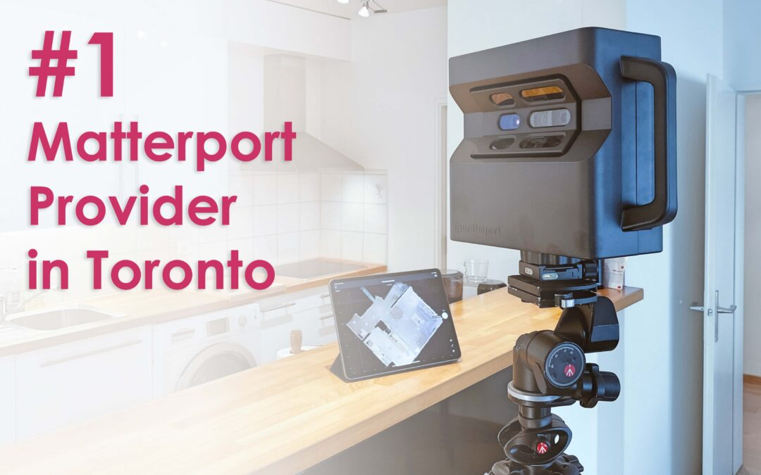 We're Toronto's Top Matterport 3D Virtual Tour Provider!