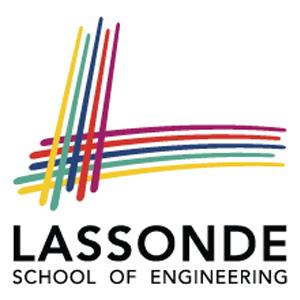 Lassonde School of Engineering Square Logo