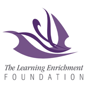 The Learning Enrichment Foundation Square Logo