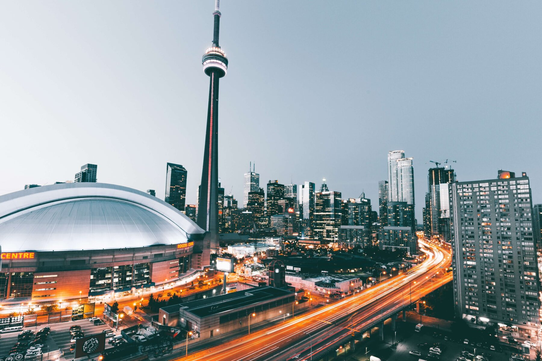Toronto city scape buildings